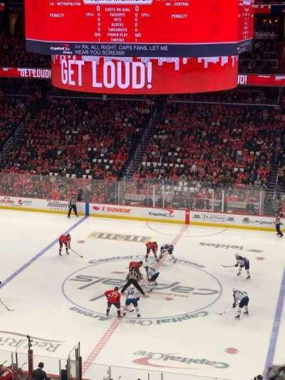 Capital One Arena, secção: 201, fila: K, lugar: 8