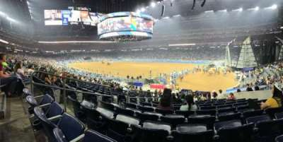 NRG Stadium, secção: 101, fila: S, lugar: 11