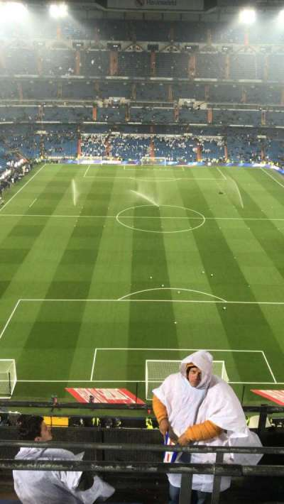 Santiago Bernabéu Stadium, secção: 521, fila: 5, lugar: 19
