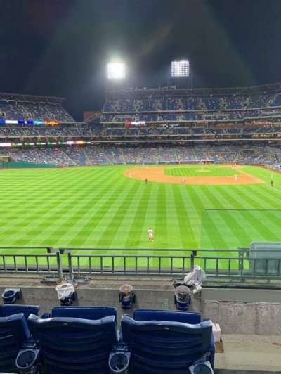 Citizens Bank Park, secção: 243, fila: 3, lugar: 1