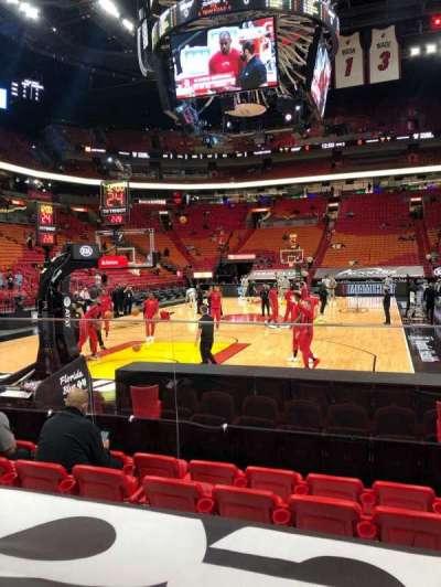 FTX Arena secção 112