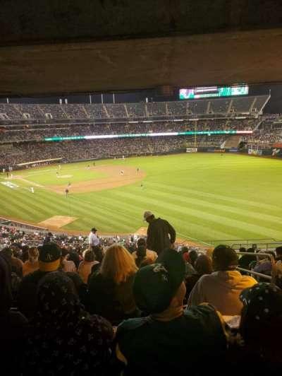 Oakland Coliseum secção 205