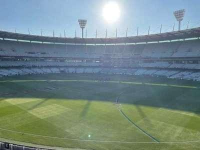Melbourne Cricket Ground, secção: P12, fila: A, lugar: 3