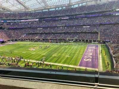 U.S. Bank Stadium secção 206