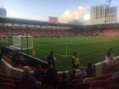 Brentford Community Stadium, secção: South Stand block S100, fila: 7, lugar: 7