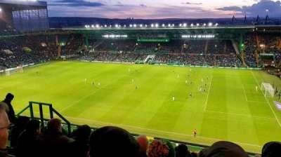 Celtic Park, secção: 403, fila: L, lugar: 4