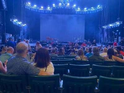 DTE Energy Music Theater, secção: CTR2, fila: I, lugar: 17