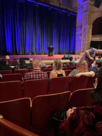 Carnegie Music Hall Of Oakland, secção: Circle 2, fila: A, lugar: 3