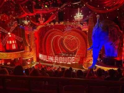 Al Hirschfeld Theatre secção Mezzanine R