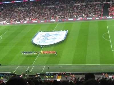 Wembley Stadium, secção: 551, fila: 25, lugar: 332