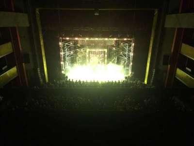 Bord Gáis Energy Theatre, secção: Upper circle, fila: A, lugar: 27