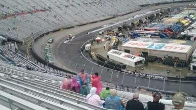 Bristol Motor Speedway, secção: Kulwicki K, fila: 38, lugar: 7