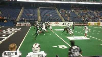 Greensboro Coliseum secção 106