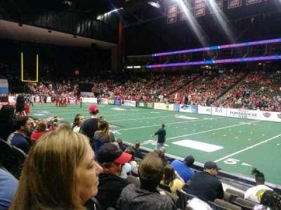 VyStar Veterans Memorial Arena, secção: 108, fila: G, lugar: 4