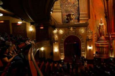 Beacon Theatre, secção: Loge 1