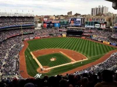 Yankee Stadium, secção: 419, fila: 12, lugar: 16