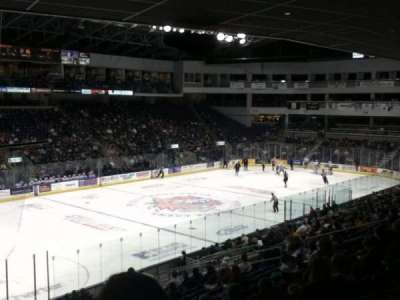 Webster Bank Arena secção 118