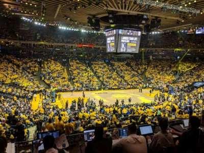 Oakland Arena secção C11