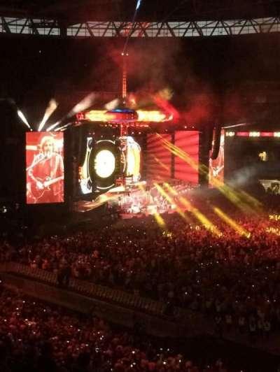Wembley Stadium, secção: 225, fila: 10, lugar: 256