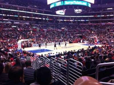 Staples Center secção 114