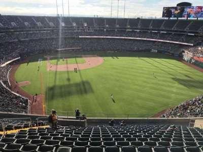 Oakland Coliseum secção 301