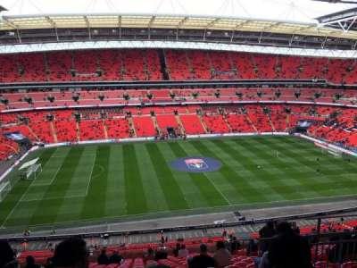 Wembley Stadium, secção: 528, fila: 19, lugar: 54