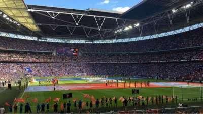 Wembley Stadium, secção: 110