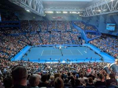 Perth Arena, secção: 306, fila: U, lugar: 6