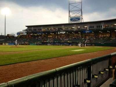 Northeast Delta Dental Stadium secção 104