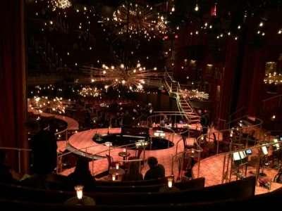 Imperial Theatre, secção: Banquet (on stage bleacher), fila: BG , lugar: 8
