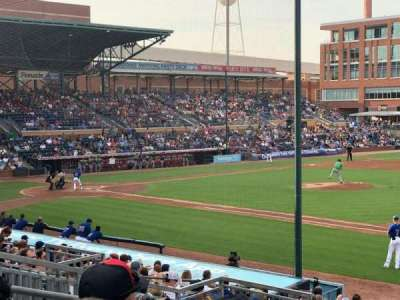 Durham Bulls Athletic Park secção 212