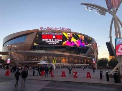 T-Mobile Arena secção Main Entrance