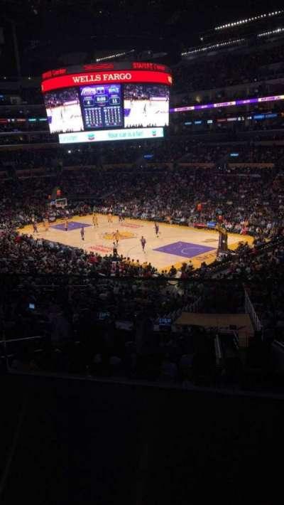 Staples Center secção Suite A2