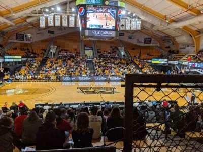 University Arena (Western Michigan University), secção: 212, fila: 1, lugar: 2