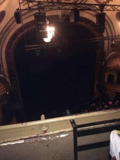 Palace Theatre (Broadway), secção: Balcony left, fila: B, lugar: 17
