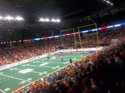 Spokane Arena, secção: 115, fila: N, lugar: 16