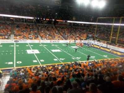 Spokane Arena, secção: 116, fila: P, lugar: 19