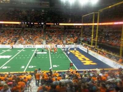 Spokane Arena, secção: 118, fila: S, lugar: 16