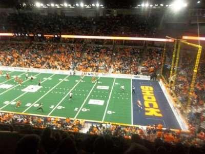 Spokane Arena, secção: 206, fila: M, lugar: 6