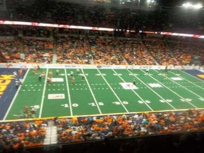 Spokane Arena, secção: 215, fila: M, lugar: 18