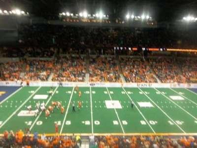 Spokane Arena, secção: 216, fila: M, lugar: 17