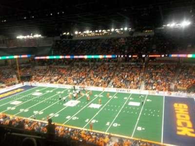 Spokane Arena, secção: 218, fila: L, lugar: 2