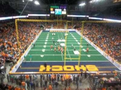 Spokane Arena, secção: 222, fila: L, lugar: 20