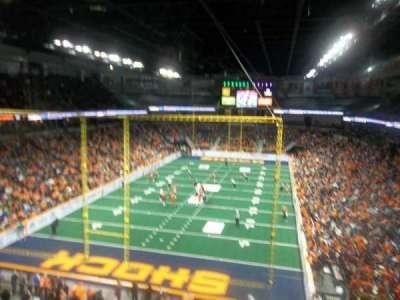 Spokane Arena, secção: 223, fila: M, lugar: 15