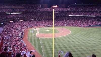 Busch Stadium, secção: 329, fila: 7, lugar: 2