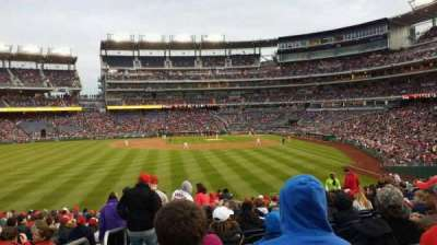 Nationals Park, secção: 104, fila: Z, lugar: 21