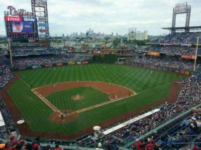 Citizens Bank Park secção 419