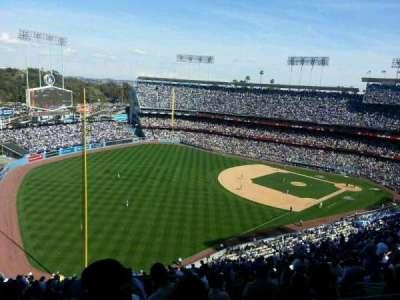 Dodger Stadium secção 49RS