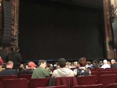 Palace Theatre (Broadway), secção: Orchestra, fila: L, lugar: 199