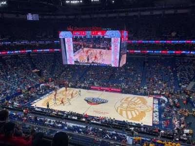 Smoothie King Center secção 331